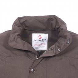 Parka imperméable Hostand Bermudes marron