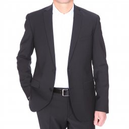 Costume cintré Gianni Ferrucci noir Costume cintré Gianni Ferrucci noir ... 3ed73e88a3f