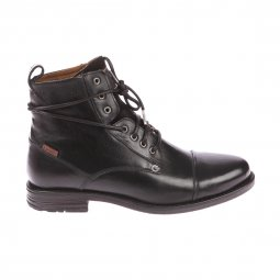 Bottines Emerson Lace up Levi's en cuir noir