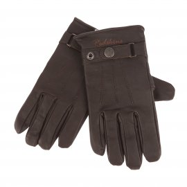 Gants Aslan Redskins en cuir marron