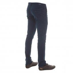 Pantalon chino Teddy Smith en coton stretch bleu marine