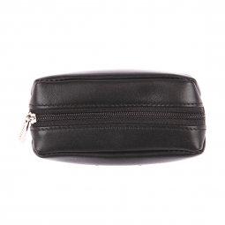 Porte-monnaie ovale Chabrand en cuir noir 6S3i7IB3UB