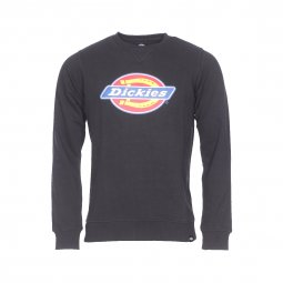 Sweat Harrison Dickies noir floqué du logo