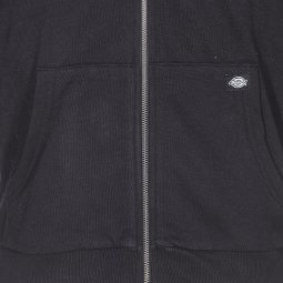 Sweat zippé à capuche Dickies Kingsley noir