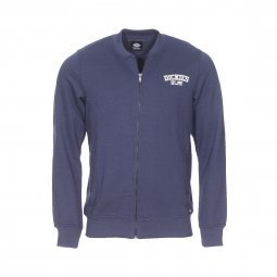 Sweat zippé Pineville Dickies bleu marine coupe bomber