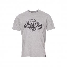 Tee-shirt col rond Dickies Gassville gris chiné