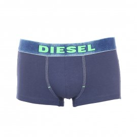 Shorty Diesel underdenim en coton stretch bleu marine à ceinture effet denim