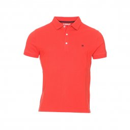 Polo Basque Harris Wilson en maille piquée orange sanguine