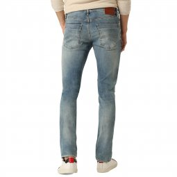 Jean slim Scanton Hilfiger Denim en coton stretch bleu clair