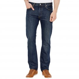 Jean Levi's 501 Original Fit Dark Clean