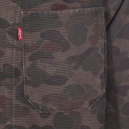Veste Levi's Engineers coat marron à imprimé camouflage