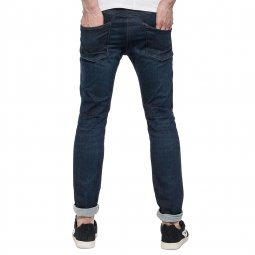 Jean slim Hyperflex Replay Anbass bleu brut