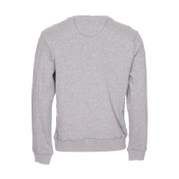 Sweat col rond Schott NYC gris chiné