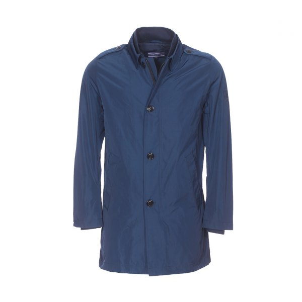 Imperméable Scott Mac Tommy Hilfiger bleu marine