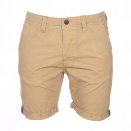 Bermuda The Fresh Brand en coton camel