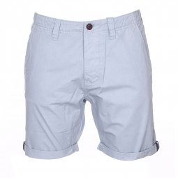 Bermuda The Fresh Brand en coton bleu clair
