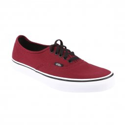 Baskets Vans Authentic en toile bordeaux