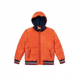 Doudoune à capuche amovible Levi's Junior orange