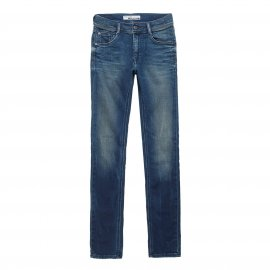 Jean slim Teddy Smith Junior Rocky bleu indigo