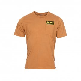 Tee-shirt col rond Dickies Franklin Park camel