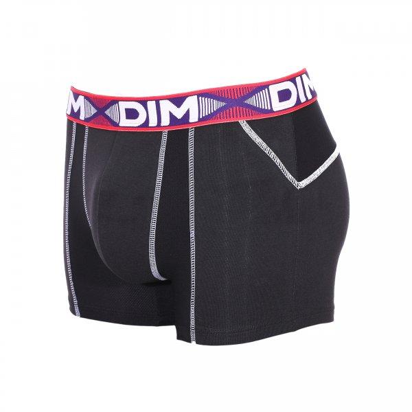 lot de 2 boxers dim 3d flex air en coton stretch a r et. Black Bedroom Furniture Sets. Home Design Ideas