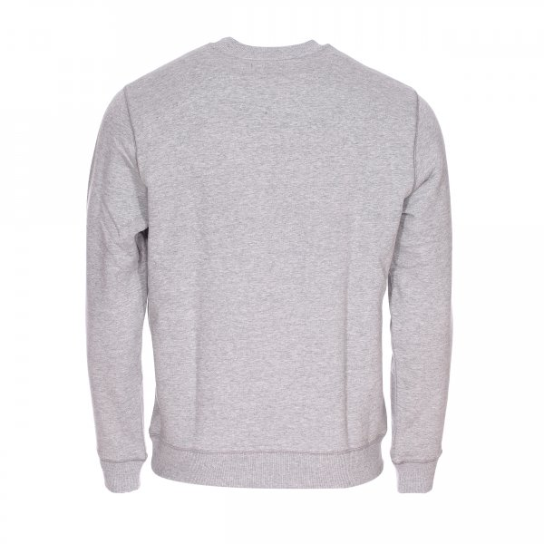 Sweat col rond Chevignon en coton gris clair chiné