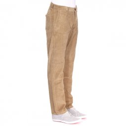 Pantalon slim tapered Dockers en velours beige