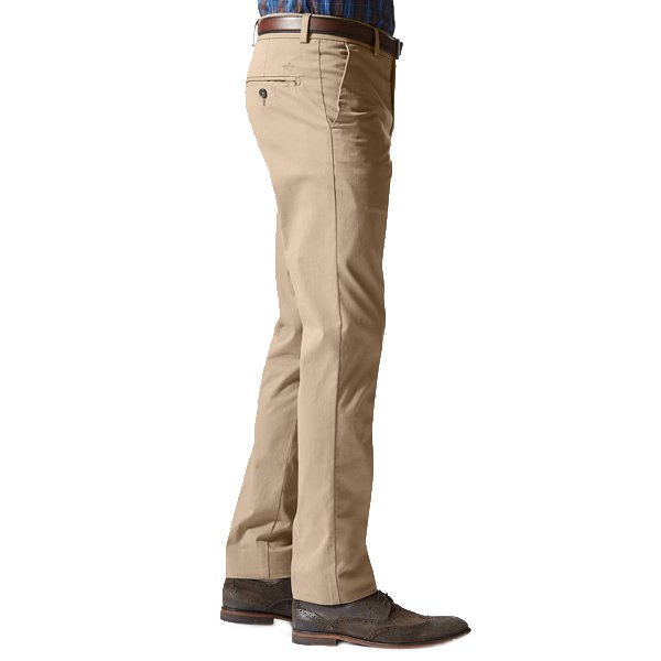Pantalon The Best Pressed Extra Slim Fit Dockers en coton stretch beige