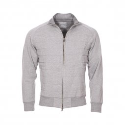 Sweat zippé Dockers gris matelassé