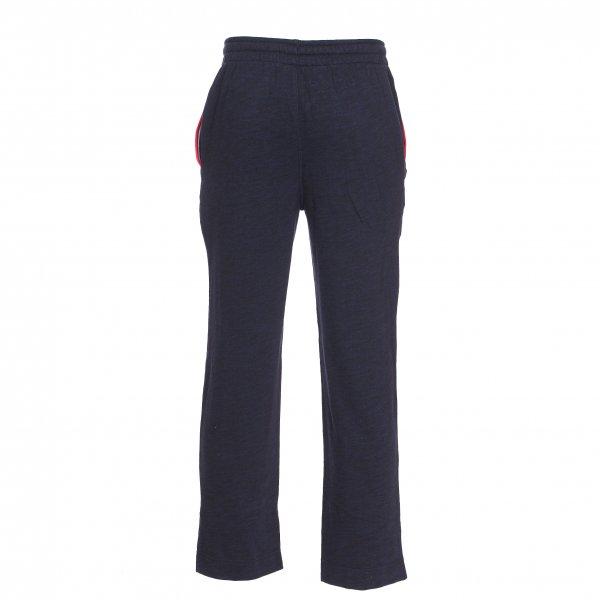 pantalon d 39 int rieur lacoste en coton m lang bleu marine chin rue des hommes. Black Bedroom Furniture Sets. Home Design Ideas