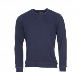 Sweat col rond Lee en coton bleu marine