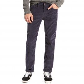 Jean 511 slim fit Levi's Nightwatch Blue en velours côtelé bleu marine