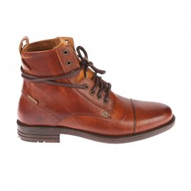 Bottines Levi's Emerson en cuir marron