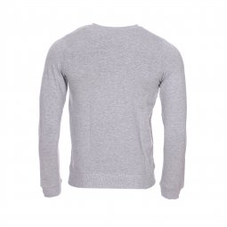 Sweat col rond Name it gris chiné floqué en blanc