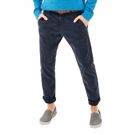 Pantalon slim fit S. Oliver en coton stretch bleu marine
