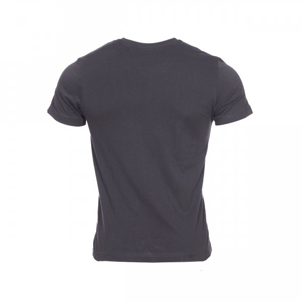 Tee shirt S Oliver gris anthracite floqué