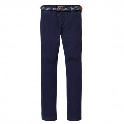 Pantalon chino Scotch & Soda Junior bleu marine