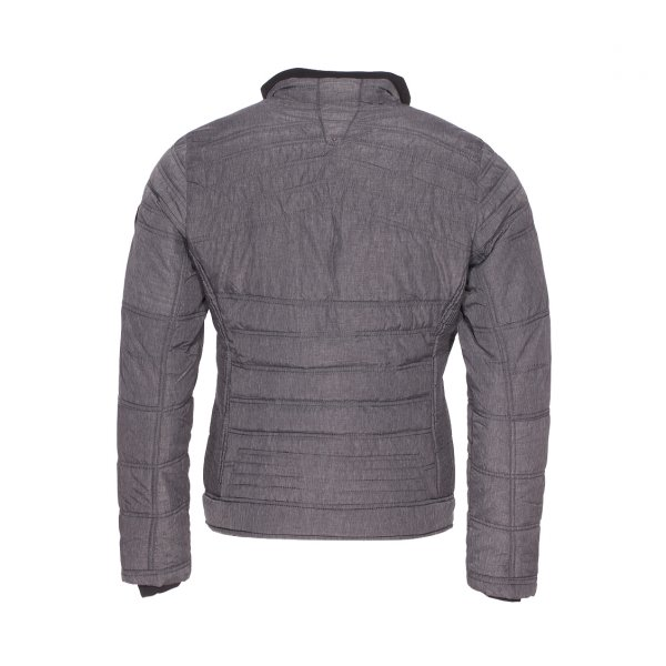 Blouson matelassé Teddy Smith Burt gris anthracite