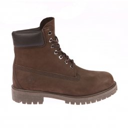 Boots Timberland Icon 6-Inch Premium cuir nubuck imperméable marron