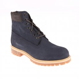 Chaussures montantes Timberland Icon 6 Premium cuir nubuck imperméable bleu marine