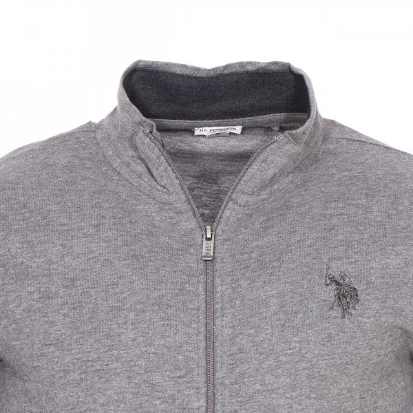 Gilet US Polo Assn gris chiné