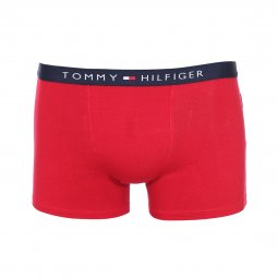 Lot de 2 boxers Tommy Hilfiger Junior en coton stretch bleu marine à étoiles et rouge