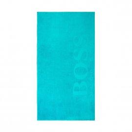 drap de plage hugo boss carved bleu cobalt rue des hommes. Black Bedroom Furniture Sets. Home Design Ideas