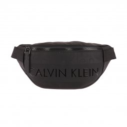Sac banane Calvin Klein Jeans Logo Addiction noir