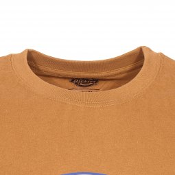 Tee-shirt col rond Dickies Horseshoe en coton marron