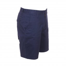 Short Dockers Stretch Twill Pembroke en coton stretch bleu marine
