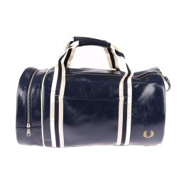 Sac de voyage Fred Perry Classic Barrel Bag bleu marine