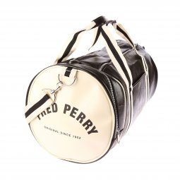 Sac de voyage Fred Perry Classic Barrel Bag noir