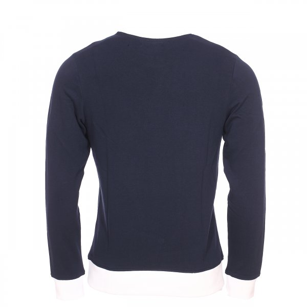 Sweat Jack & Jones Jorlegend en coton bleu marine