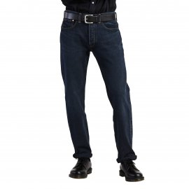 Jean Levi's 501 Original fit Dark Hours en coton stretch bleu